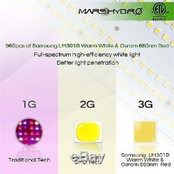 Mars Hydro Sp 3000 Led Grow Light Full Spectrum Hydroponique Samsungled Lm301b Veg