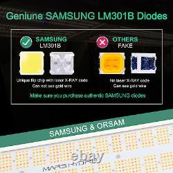 Mars Hydro Sp 6500 Led Grow Light Samsungled Lm301b Plantes D'intérieur Pour Veg Fleur