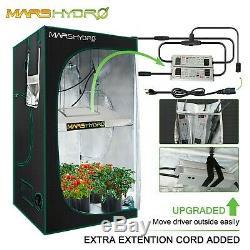 Mars Hydro Ts 1000w 2000w 3000w Led Grow Tent Lumière Intérieure Lampe Fleur Plante Veg