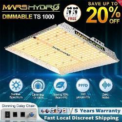 Mars Hydro Ts 1000w Led Grow Light Full Spectrum Ir Pour Les Plantes Intérieures Veg Flower