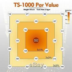 Mars Hydro Ts 1000w Led Grow Light Full Spectrum Panel Lampe De Plantes D'intérieur Pour Veg