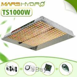 Mars Hydro Ts 1000w Led Grow Light Set Full Spectrum Veg Flower Toutes Scène Végétale
