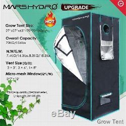 Mars Hydro Ts 1000w Led Grow Light Veg Usine De Fleur + 2'x2' Kit Grossir Intérieur Tente