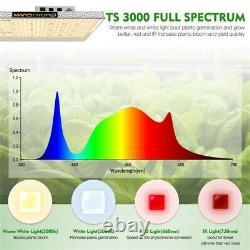 Mars Hydro Ts 3000w Led Grow Light Dimmable Full Spectrum For Veg Flower Bloom