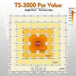Mars Hydro Ts 3000w Led Grow Light Full Spectrum Pour Plantes D'intérieur Veg Fleur Ir