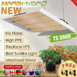 Mars Hydro Ts 3000w Led Grow Light Full Spectrum Veg Fleur Pour Toutes Les Étapes Végétales