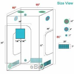 Mars Hydro Ts 3000w Led Grow Light Veg Usine De Fleur + 5'x5' Kit Grossir Intérieur Tente