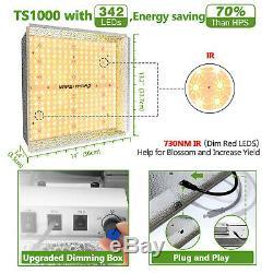 Mars Hydro Ts 600w 1000w 2000w 3000w Led Grow Tente Intérieur Lumière Pour Veg Fleurs