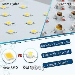Mars Hydro Ts 600w Lampe À Fleurs De Veg De Croissance Légère +2.3'x2.3' Kit De Tente De Croissance Intérieure