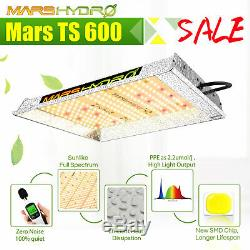 Mars Hydro Ts 600w Led Grow Light Blanc Full Spectrum Pour Grossir Veg Bloom Intérieur