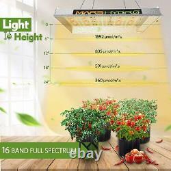 Mars Hydro Ts 600w Led Grow Light Full Spectrum Veg Fleurs Pour La Maison De Plantes D'intérieur