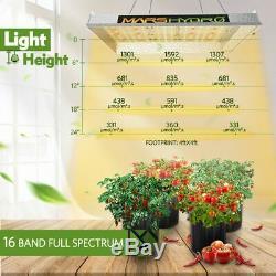 Mars Hydro Ts 600w Led Grow Light Veg Plantes Fleuries + 2' X 2' X 5' Kits Cultiver Tente