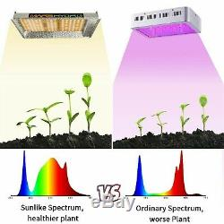 Mars Hydro Ts 600w Led Grow Light Veg Usine De Fleur + 2'x2' Kit Grossir Intérieur Tente