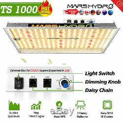 Mars Hydro Ts1000w Led Grow Light Full Spectrum Pour Les Plantes Veg Bloom Lampe Panel