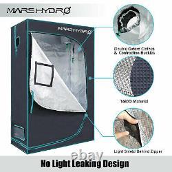 Mars Hydro Tsl 2000w Led Grow Light+4'x2' Indoor Tent Veg Flower Carbon Filter