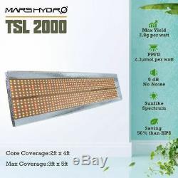 Mars Hydro Tsl 2000w Led Grow Light Sunlike Spectrum Lampe Hydroponique Veg Fleur