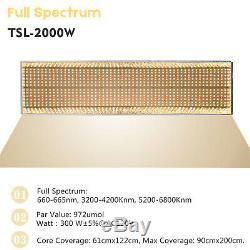 Mars Hydro Tsl 2000w Led Grow Light Veg Flower Full Spectrum Pour Plantes D'intérieur