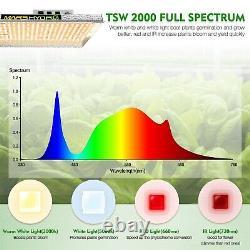 Mars Hydro Tsws 2000w Led Grow Lights Spectrum Complet Pour Les Plantes Intérieures Fleur Veg