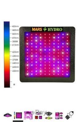 Mars II 700w Led Grow Light Panel Spectre Complet Plantes D'intérieur Hydro Veg Fleurs