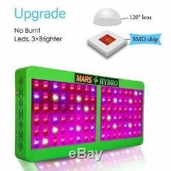 Mars Led Grow Light Hydro Réflecteur 300w 600w 800w 1000w Full Spectrum Veg Bloom
