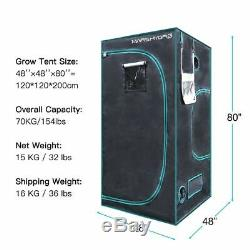 Mars Réflecteur 1000w Led Grow Light Veg Bloom Usine Hydro + 4'x 4'x 6.5' Kit Tente