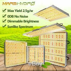 Marshydro Ts 1000w 2000w 3000w Led Grow Light Intérieur Veg Fleur Remplacer Hps Hid