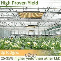 Marshydro Ts 600w Led Grow Light Sunlike Full Spectrum Veg Bloom Pour Hydroponique