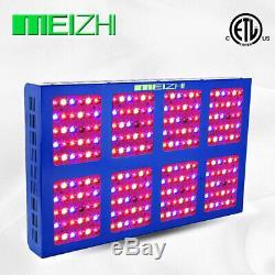 Meizhi 1200w Led Grow Light Full Spectrum Pour Plantes D'intérieur Bandes Ir Veg Bloom