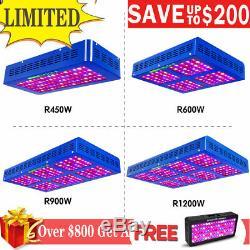 Meizhi 450w 600w 900w 1000w 1200w Led Grow Light Full Spectrum Indoor Veg Bloom