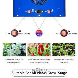 Meizhi 450w Led Grow Light Full Spectrum Hydroponique Veg Bloom Intérieur Panneau Usine
