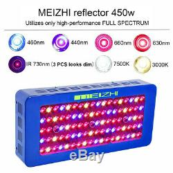 Meizhi De 450w Led Grow Light Full Spectrum Hydroponique Veg Bloom De Plantes D'intérieur