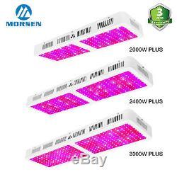 Morsen 2000w-3000w Led Grow Light Full Spectrum Pour L'intérieur All Plant Veg Croissance