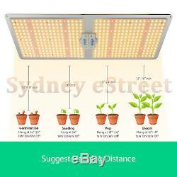 Nouveau 1000w 2000w Full Spectrum Led Grow Light Samsungled Lm301b Plantes D'intérieur Veg