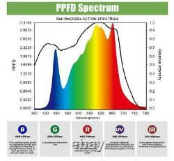 Phlizon 2000w Lm301b Led Grow Light Full Spectrum For Indoor Plants Veg Bloom Us