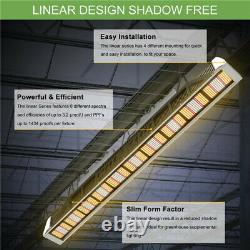 Phlizon Linear Series -ph-3000/2000 Led Grow Lights Indoor Plant Lamp Veg Flower