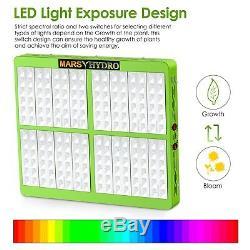 Réflecteur 1000w Led Grow Light Veg Fleurs De Plantes D'intérieur + 4'x4' Cultivez Kits De Tente