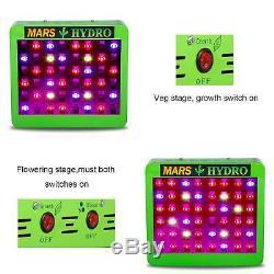 Réflecteur 300w Led Grow Light Veg Flower + 2'x2' Kit Tente Intérieure Grossir