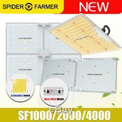 Sf 1000w 2000w 4000w Led Grow Lumière Sunlike Full Spectrum Veg Bloom Toutes Les Étapes