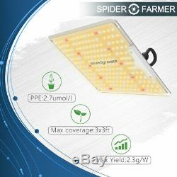 Sf 1000w Led Grow Light Full Spectrum Samsung Lm301b Diodes Pour L'intérieur Veg Bloom