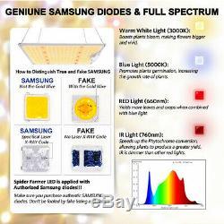 Sf4000w Led Grow Light Full Spectrum Lm301b Chips Pour L'intérieur Veg Usine Lumière USA