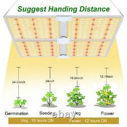 Spider Farmer 4000w Led Grow Light Samsungled Lm301b All Stage Veg Flower Indoor