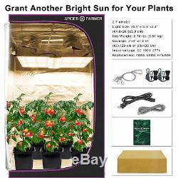 Spider Fermier 1000w Led Grow Light Samsungled Lm301b Plantes D'intérieur Veg Fleurs