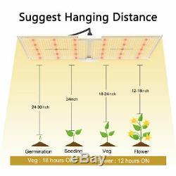 Spider Fermier 2000w Led Grow Light Samsungled Lm301b Veg Fleurs Plantes D'intérieur
