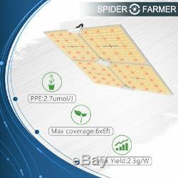 Spider Fermier 4000w Led Grow Light Samsung Lm301b Intérieur Toutes Les Étapes Veg Fleurs