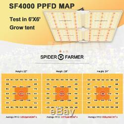 Spider Fermier 4000w Led Grow Light Samsungled Lm301b Intérieur Toutes Les Étapes Veg Fleur