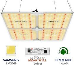 Spider Fermier Sf-4000 Led 450w Élèvent La Lumière Avec Samsung Lm301b Intérieur Veg / Fleur