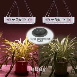 Sunlike 8000w Led Grow Light Full Spectrum Pour Tous Les Végétaux Intérieurs Fleur De Veg 3500k