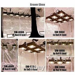 Sw-3000 Led Grow Light Sunlike Full Spectrum Cob Plants Lights For Indoor Veg