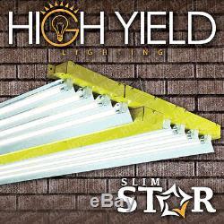 T5 4 Pi 8 Lampe 432w 48 Grow Lumière Haut Débit Fluorescent Ampoule Choix Veg Bloom