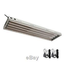 T5 4ft 4 Ampoule 4' X 4 4ft 4 Lampes Grow Système D'éclairage Led W Lampes Veg 6500k